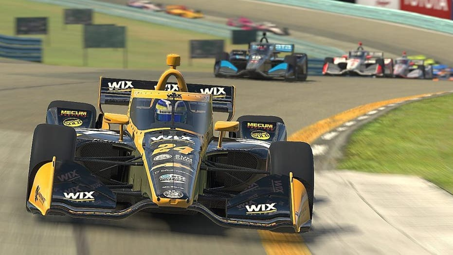 IndyCar switching to virtual racing during coronavirus crisis
