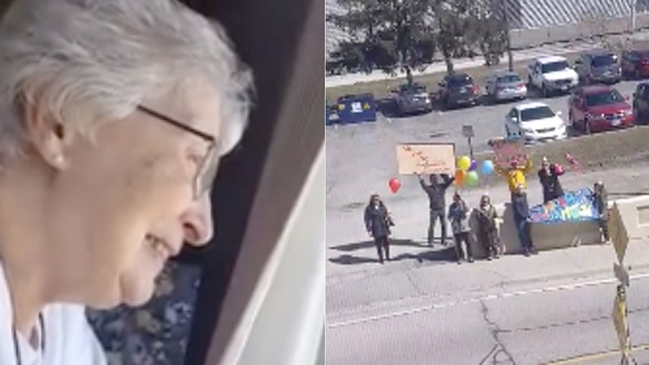 Canadian woman doesn't have coronavirus spoil 85th birthday, gets social distance surprise