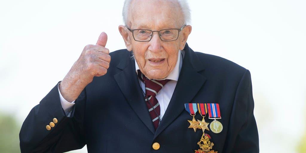 British WWII veteran raises more than $16M to help doctors, nurses during coronavirus pandemic | Fox News