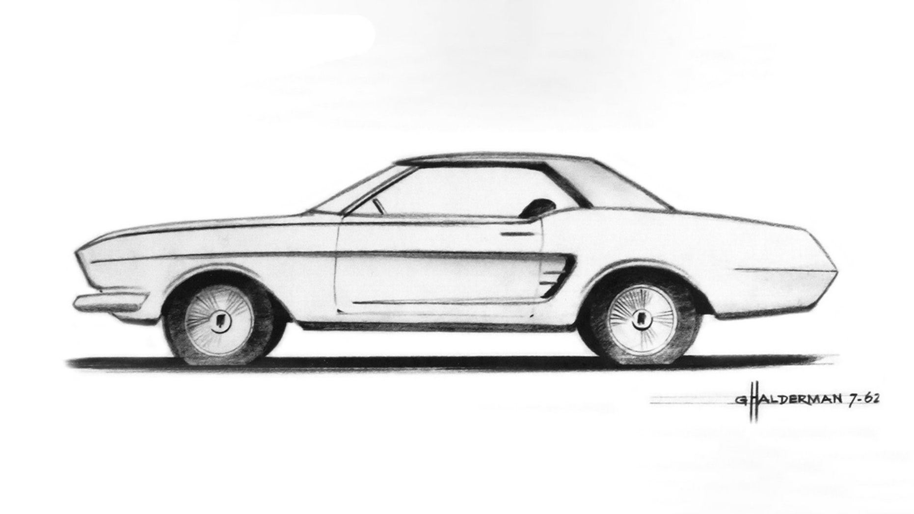original ford mustang design