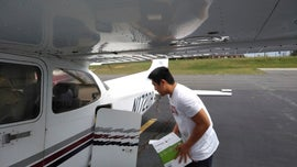 Virginia pilot, 16, transports medical supplies to small hospitals that need them most