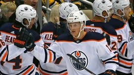 Wife of Edmonton Oilers' Colby Cave gives update on medically-induced coma