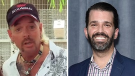 Donald Trump Jr. says 'Tiger King' star Joe Exotic's sentence seems 'aggressive,' jokes he'd lobby for pardon