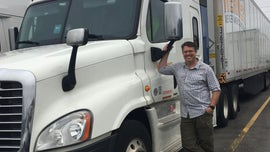 Truck driver opens up on personal sacrifice for America's economy during coronavirus