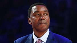 Pistons' Isiah Thomas says Michael Jordan wasn't his competition during prime years