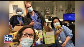 NJ nurse fights coronavirus with food donations: 'Everybody is smiling underneath their masks'
