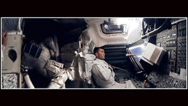 Apollo 13 image of napping astronaut gets high-def panoramic treatment for mission's 50th anniversary