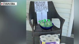 Man tips delivery drivers with toilet paper and hand sanitizer: 'It's the least we could do'