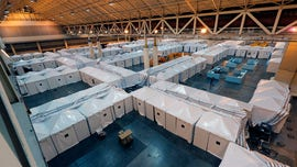 New Orleans field hospital provides 1,000 beds for coronavirus relief: Here's a look inside