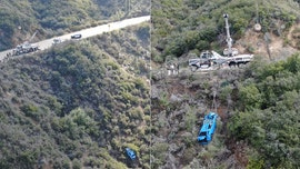 Mustang crashes off California cliff during coronavirus lockdown, gets pulled out by 'Hulk' wrecker