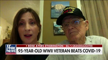 95-year-old WWII veteran beats the odds, survives coronavirus: 'Have a positive attitude'