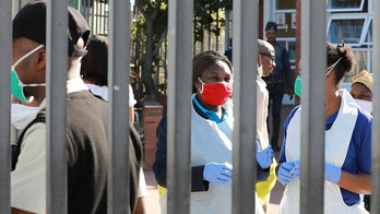 In South Africa, coronavirus surges as oxygen supplies run low in epicenter