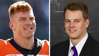 Joe Burrow gets a welcome call to Bengals from Andy Dalton