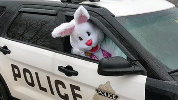 Easter Bunny is social distancing this year, but still making appearances