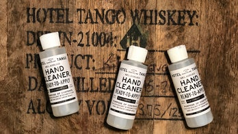 First combat-disabled, veteran-owned US distillery makes hand sanitizer for coronavirus fight