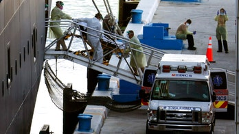 Passengers on coronavirus-stricken cruise ships disembark in Florida, head for hospitals, airports