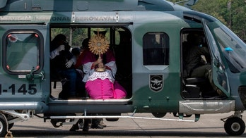 Amid coronavirus, Panama archbishop gives Palm Sunday blessing from helicopter