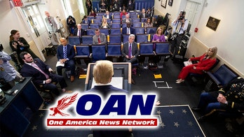 OANN removed from White House virus briefing rotation after violating policy, WHCA announces