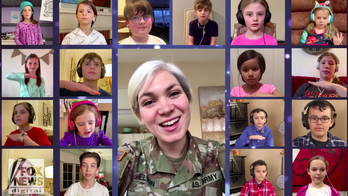 Army Field Band soldier creates 'Do-Re-Mi' singalong with 18 kids in adorable video