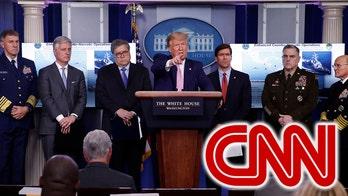 CNN avoids majority of White House virus presser, trashes Trump for 'shameless' focus on 'political' anti-cartel efforts