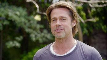Brad Pitt fights back tears during HGTV debut on 'Celebrity IOU'