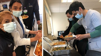 Out-of-work chef donates gourmet meal to busy hospital staff during coronavirus outbreak