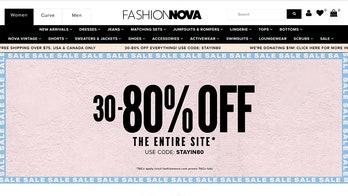 Fashion Nova slammed for suggesting customers shop with stimulus checks amid pandemic