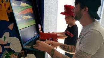 Dad builds 500-in-1 classic video game arcade for son during coronavirus lockdown