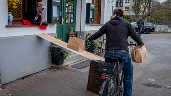 German cider restaurant becomes drive-thru to stay open during coronavirus pandemic