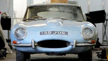Rusty barn find 1964 Jaguar E-Type restored and worth $250G