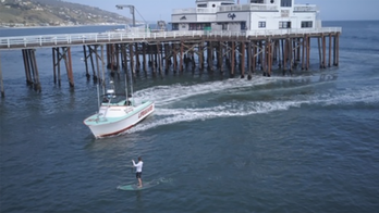 Malibu paddleboarder arrested for violating stay-at-home order