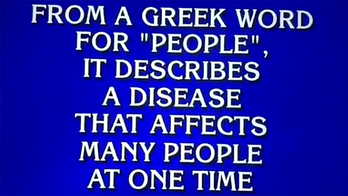 Pandemic answer on 'Jeopardy' has people totally freaked out