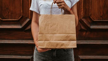 People are turning paper bags into chic dresses during lockdown