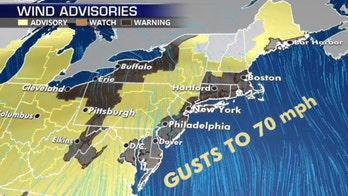 NYC under high wind warning, storm threatens 'damaging' gusts to 70 mph in cities where tents set up for coronavirus