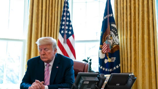 Trump delivers hopeful Easter message from Oval Office: 'Our nation will come through'