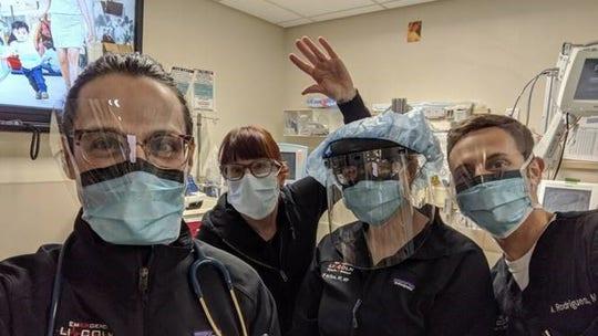 Bikers among the unorthodox groups donating masks to coronavirus workers via website