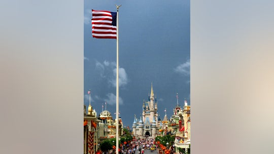 Disney World continues to raise, fly US flag despite park closure: 'It's a symbol that we're still here'