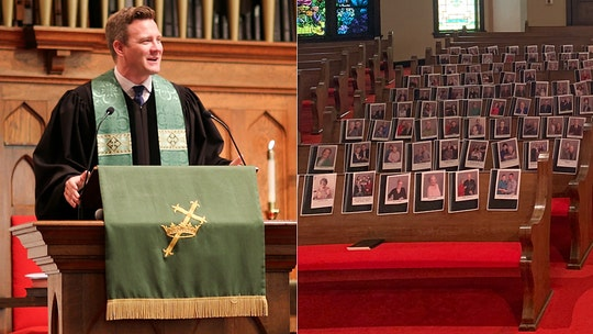 Texas pastor puts church members' faces on pews: 'Little church with a big heart'
