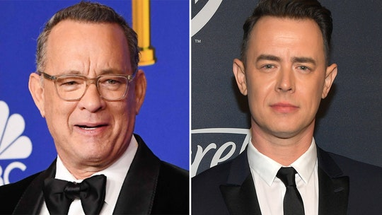 Tom Hanks' son Colin shares tutorial on how to turn kerchiefs into coronavirus masks