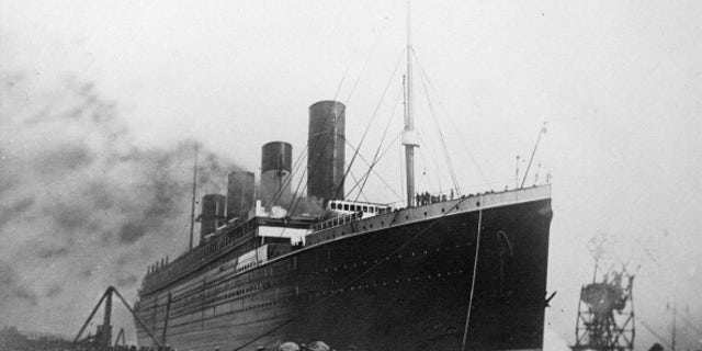 The 'Titanic', a passenger ship of the White Star Line, that sank on the night of April 14-15, 1912. (Photo by Roger Viollet/Getty Images)
