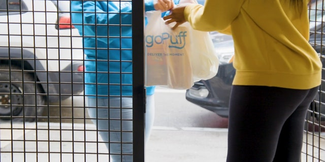GoPuff is now arming its drivers with disinfectant and practicing contactless delivery.