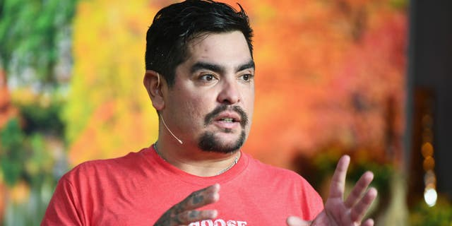 Chef Aaron Sanchez, seen here during the New York City Wine & Food Festival in 2018, recommends one-pot dishes and lots of great base ingredients. (Photo by Dave Kotinsky/Getty Images for NYCWFF)