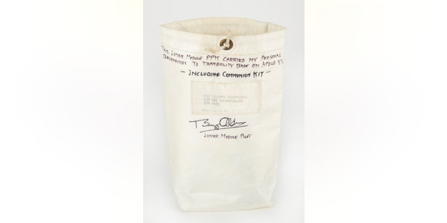 Aldrin's Personal Preference Kit, which carried communion items to the surface of the moon.