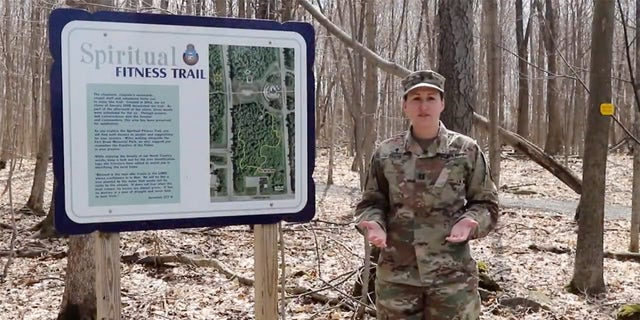 Cpt. Amy Smith is the chaplain of the Army's 10th Mountain Division Sustainment Brigade at Fort Drum, New York.