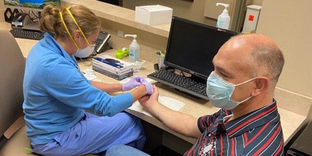 Georgia State Senator Bruce Thompson recovered from the coronavirus and is now donating plasma.
