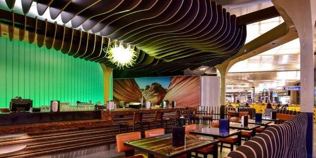 CRO's Cantina Laredo inside Los Angeles International Airport