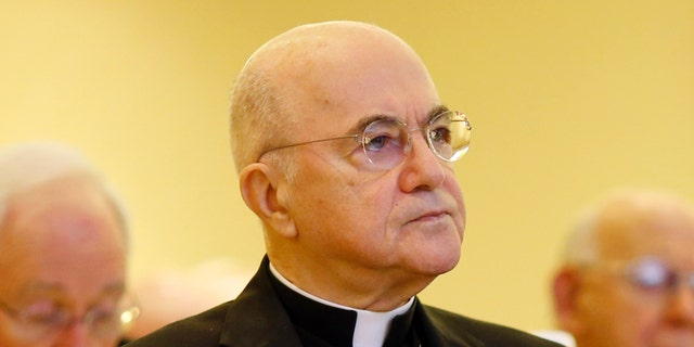 Archbishop Carlo Maria Vigano is calling on fellow clergy to perform a mass exorcism on Holy Saturday amid the coronavirus.