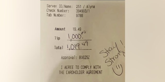 """""""It was like we weren't closed for regular business,"""" the owner said of the restaurant's lively atmosphere after staff learned of the generous tip."""