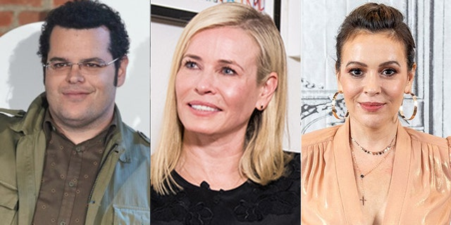 Celebrities like Josh Gad, Chelsea Handler and Alyssa Milano slammed Donald Trump's decision not to fund the World Health Organization amid the coronavirus pandemic.