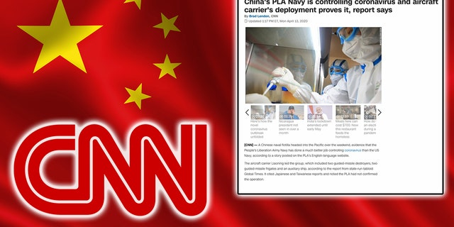 "CNN changed a story on its website Wednesday after being widely accused of originally publishing ""Chinese propaganda."""
